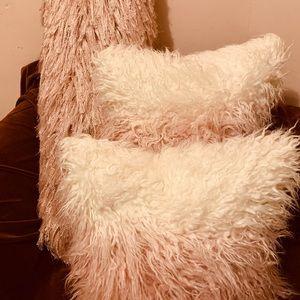 Beautiful Pink Accent Pillows